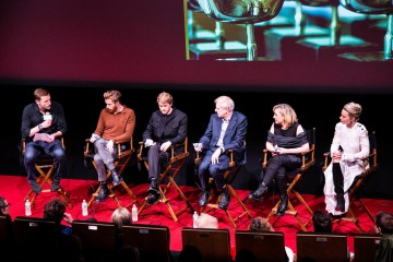Wilfred Frost, Jack Lowden, Joe Alwyn, Dr. John Guy, Josie Rourke and Margot Robbie