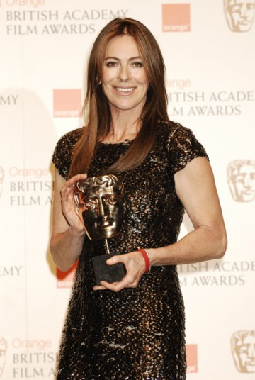 Kathryn Bigelow wins in the Director category for her film The Hurt Locker (BAFTA/Richard Kendal).