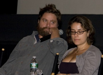Zach Galifianakis and Director Anne Boden