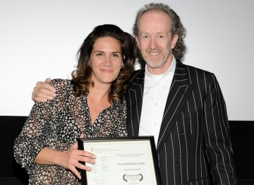 Vanessa Knutson and BAFTA Los Angeles Chairman Neil Stiles.