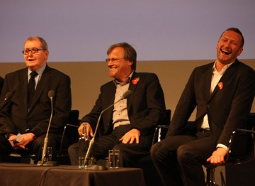 """Tony Warren balked at the idea of naming a favourite cast member: """"I can't say that! It's always the last one I saw!"""" Pic: BAFTA/ Steve Butler"""