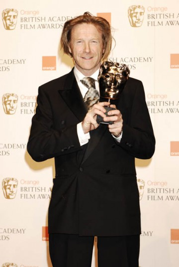 Dod Mantle continued Slumdog Millionaire's winning streak when he took the award for Best Cinematography (BAFTA/ Richard Kendal).