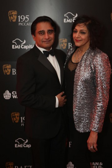 Husband and wife Meera Syal and Sanjeev Bhaskar