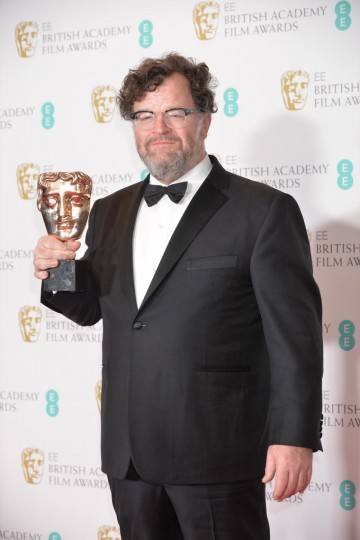 Winner of the Original Screenplay Award, Manchester By The Sea. Collected by writer and director Kenneth Lonergan.