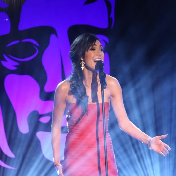 Riva Taylor opens the British Academy Games Awards Ceremony in 2015