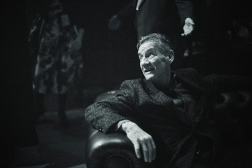 Michael Palin waits backstage ready to announce the winner in the Comedy category