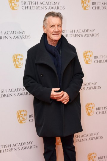 Michael Palin at the BAFTA Children's Awards 2015 at the Roundhouse on 22 November 2015