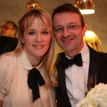 Edith Bowman with BAFTA COO Kevin Price