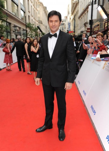 Star of Spooks, Richard Armitage, arrives at the London Palladium (BAFTA/Richard Kendal).