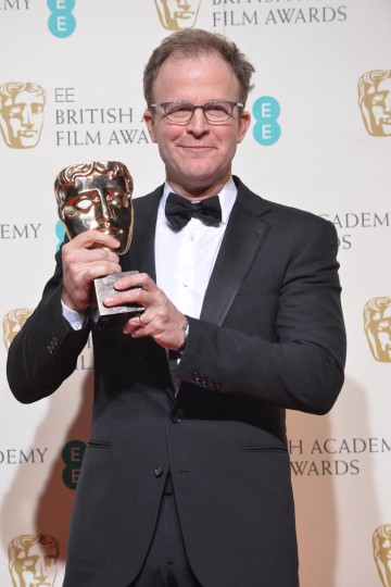 Winner of the Original Screenplay award for Spotlight: Tom McCarthy
