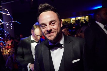 Anthony McPartlin looking sharp in his suit and bowtie