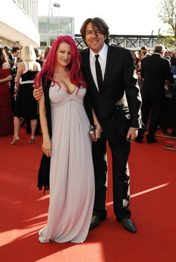 Jonathan Ross with wife, Jane Goldman on the red carpet at the British Academy Television Awards (BAFTA/ Richard Kendal).
