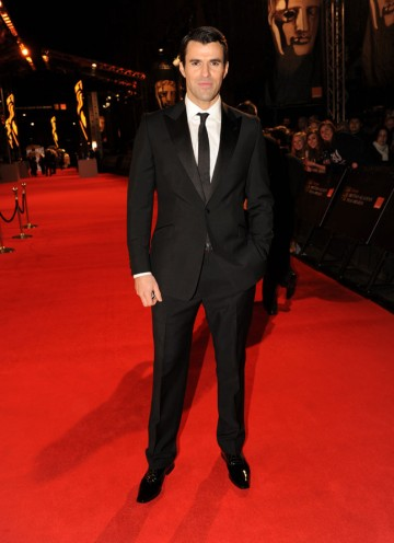 E! red carpet reporter Steve Jones. (Pic: BAFTA/Richard Kendal)