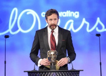Chris O'Dowd from the IT Crowd presented the award for Director Fiction (BAFTA / Richard Kendal).