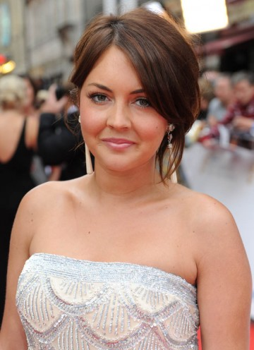 EastEnders' Lacey Turner arrives at the Philips British Academy Television Awards to see if the soap can take home the hotly contested Continuing Drama award (BAFTA/Richard Kendal).