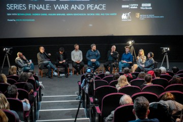 Event: War & Peace series finale screening plus Q&A Date: Monday 1 February 2016 Venue: Cinieworld, Cardiff Host: Jason Mohammad
