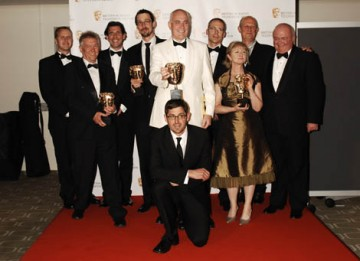 Louise Theroux presented the Single Documentary BAFTA to the team behind Chosen (True Stories) (BAFTA/ Richard Kendal).