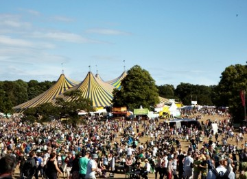 The sunny scene at Latitude Festival in Henham Park, Suffolk (Picture: Jonathan Birch)