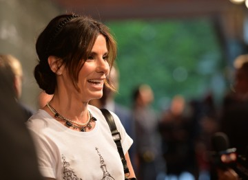 Sandra Bullock on the red carpet at the BAFTA LA 2014 Awards Season Tea Party.