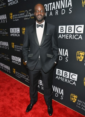 Blood Diamond actor Ato Essandoh soaks up the atmosphere.