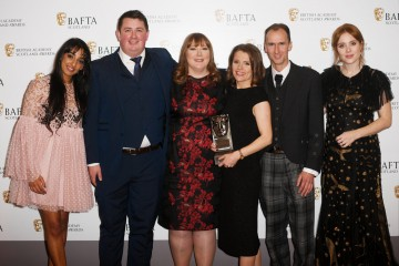 Murdo MacSween, Maureen MacLeod, Angela MacLean, Stephen Hughes with citation readers Kiran Sonia Sawar and Angela Scanlon - Current Affairs