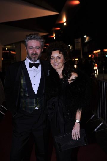 Colin Kennedy and Gillian Berrie