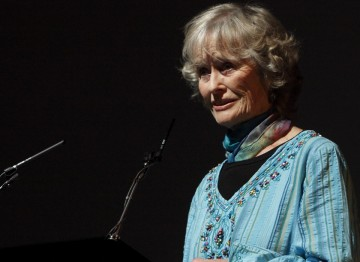 BAFTA-winning actress Virginia McKenna paid tribute to Wolf at the event.