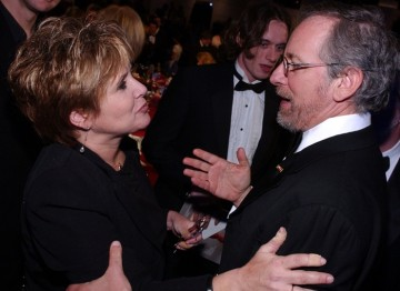 Carrie Fisher and Steven Spielberg