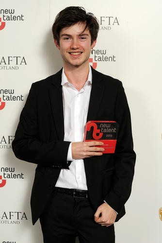 Benjamin Cresswell - Winner in the Animation Category for 'The Armadillo & The Earwig'