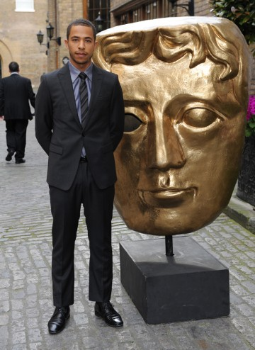 The British Actor (Eternal Law, Street Dance 3D & Venus And The Sun) arrives at the Television Craft Awards to present the Original Music category.