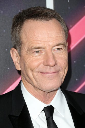 Actor Bryan Cranston, who presented James Corden with the Britannia Award for British Artist of the Year presented by Burberry, is pictured on the red carpet ahead of the ceremony.