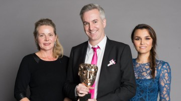 The team behind The LEGO Movie, winner of the Feature Film category at the British Academy Children's Awards in 2014, presented by Samantha Barks