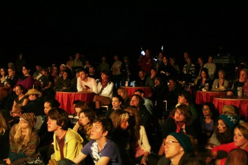 The Film Tent was packed out for the BAFTA screenings and Q&As.