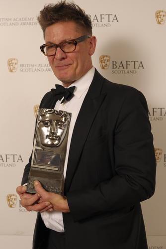 Jake Gavin collecting for Peter Mullan (Actor Film)