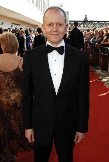 Academy Chairman David Parfitt arrives at the Awards (BAFTA / Richard Kendal).