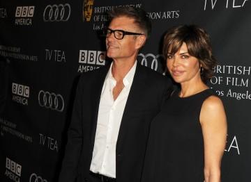 Actor Harry Hamlin and presenter Lisa Rinna