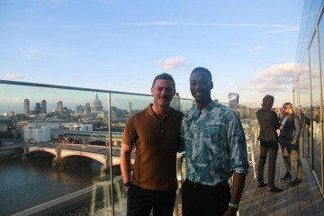 Academy Circle event with Luke Evans, Mondrian London at Sea Containers, June 2016