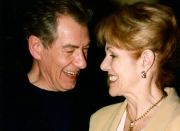 Sir Ian McKellen and Lynn Redgrave