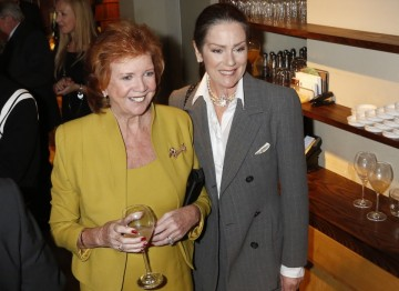 Cilla Black and Lorraine Chase