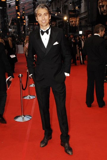 Presenter George Lamb down to host the BBC Red Carpet show at 7:30pm (BAFTA/Richard Kendal).