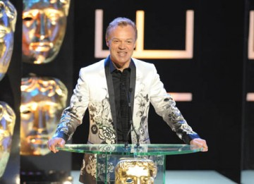 Comedian Graham Norton hosted the show for the second year running (BAFTA / Marc Hoberman).