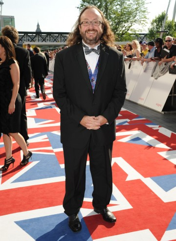 One of The Hairy Bikers, whose Meals on Wheels show is competing in the Features category.