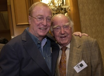 Michael Caine and Ronald Neame