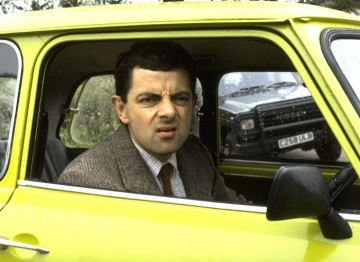 """When talking about the popular comedy series, Bennett-Jones said; """"I'm very proud of my involvement with Mr Bean. It's not particularly fashionable but it's sold everywhere in the world."""" (Pic: Tiger Aspect)"""