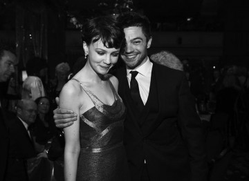 Carey Mulligan and Dominic Cooper at the 2009 Film Awards