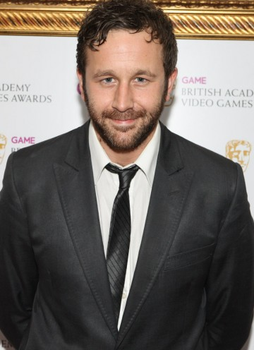 Actor Chris O'Dowd of Channel 4 comedy The IT Crowd, arrives at the BAFTA Video Game Awards 2010.