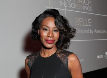 Amme Asante at the BAFTA Los Angeles screening.