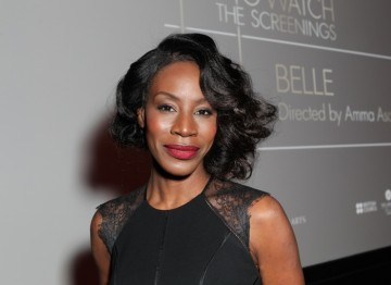 Amme Asante at the BAFTA Los Angeles screening.