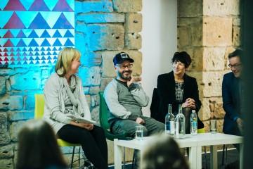 The Ladder: Film - Shian Holt, Peter Mackie Burns, Caroline Cooper Charles & Tommy Gormley