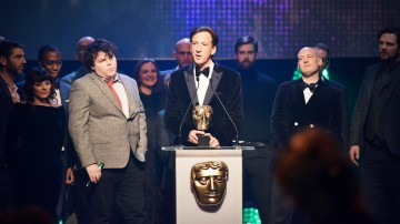 Somethin' Else collects the BAFTA for Independent Production Company at the British Academy Children's Awards in 2015